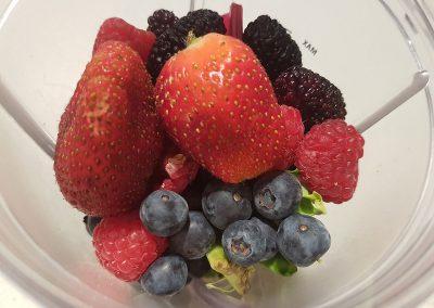 Juicing with Berries